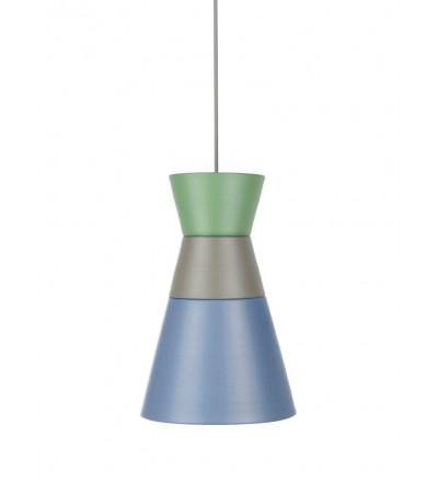 Lampa DANCE ALL NIGHT kolekcja ILI ILI - zielono-szaro-niebieska