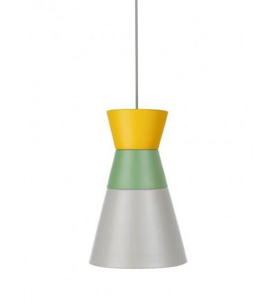 Lampa DANCE ALL NIGHT kolekcja ILI ILI - żółto-zielono-szara