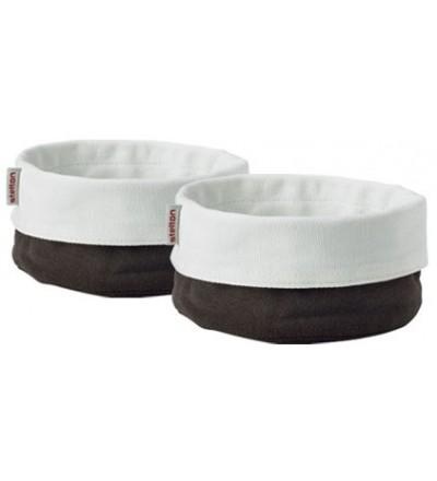 Stelton Classic 2 mini chlebaki - torby brązowo-białe