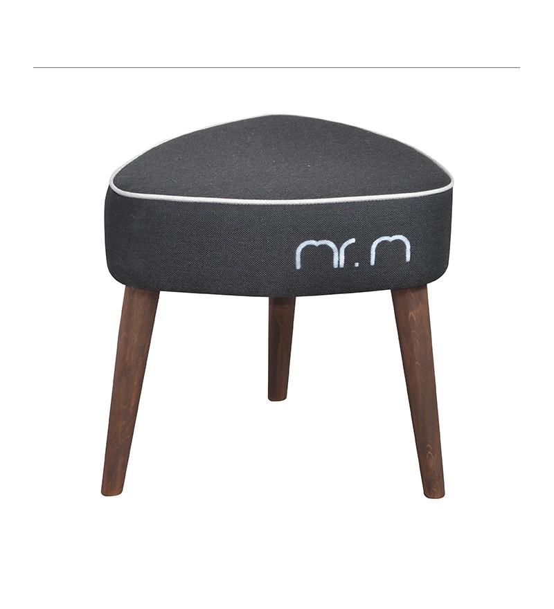 Stołek Mr M Monkey Machine - czarny/beż