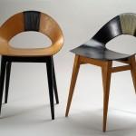 Krzesło Muszelka proj. Teresa Kruszewska