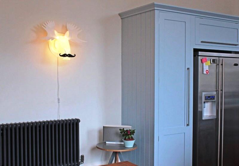 Lampa ścienna Moosetache, Blue Marmalade, Pufa Design