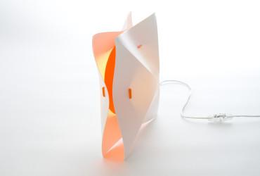 Lampa Hollow Blue Marmalade pomarańczowy Pufa Design
