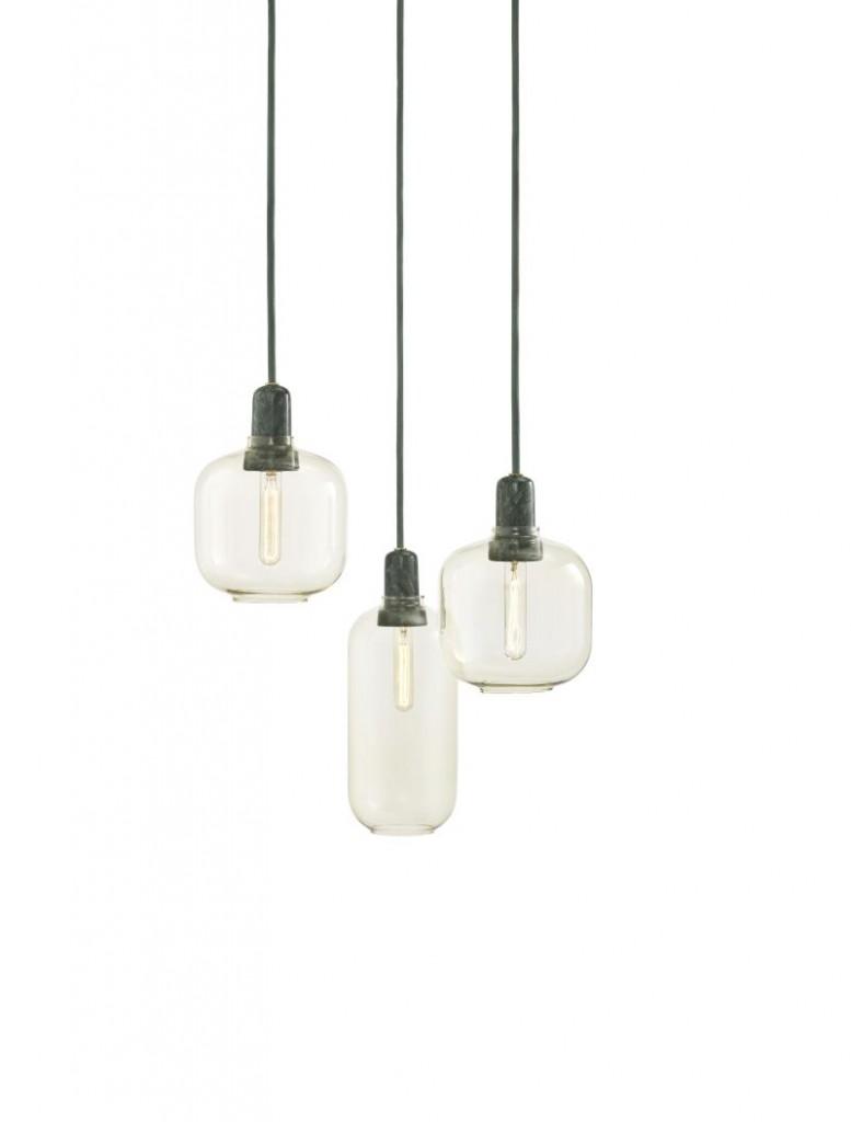 Lampy wiszące AMP, Pufa Design