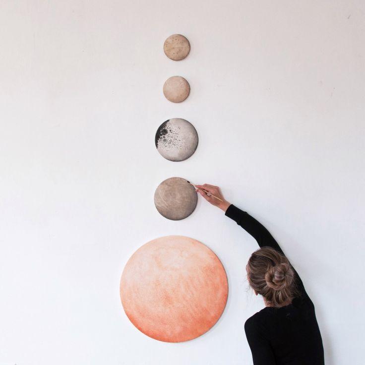 Fot. moons of saturn, stella maria baer