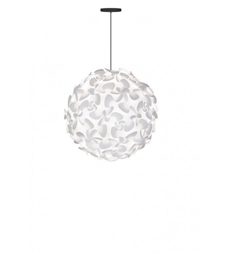 Lampa Lora XL z czarnym zawieszeniem, Pufa Design