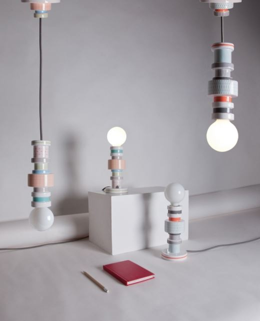 Kolekcja lamp porcelanowych Moresque, Pufa Design