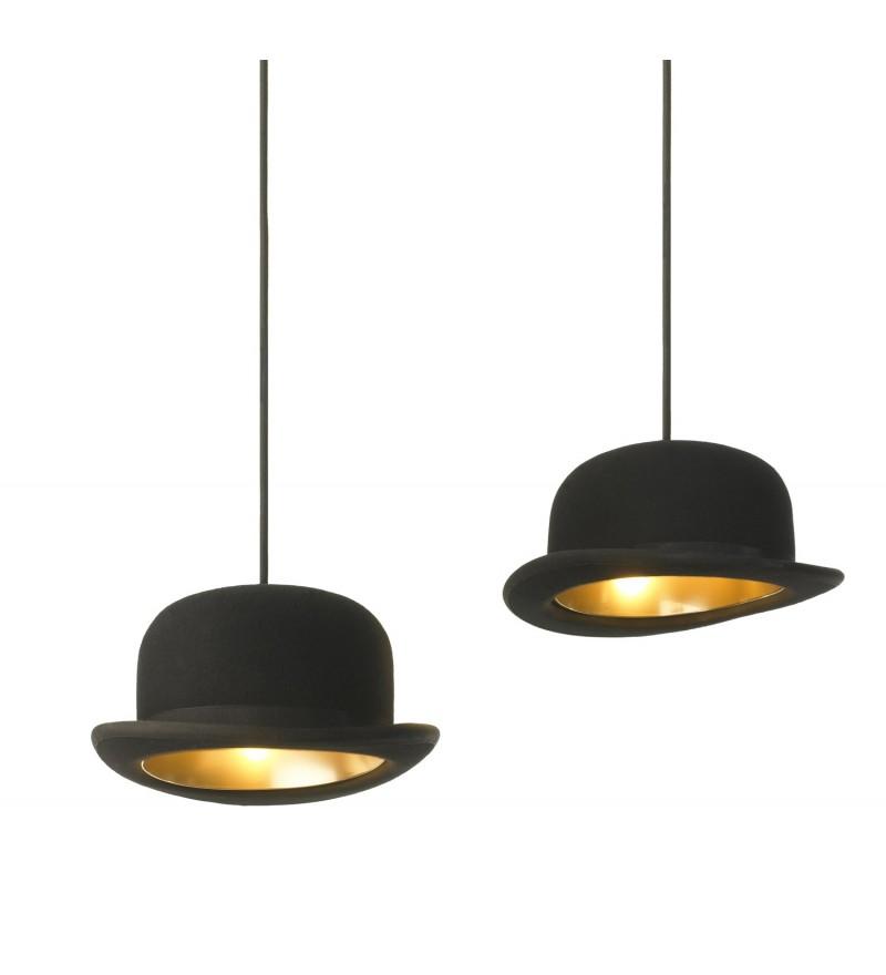 Lampy wiszące w kształcie melonika Jeeves, Innermost, PufaDesign.pl