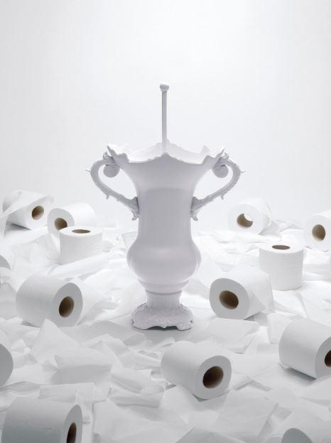 Szczotka toaletowa WC Royale, Pufa Design