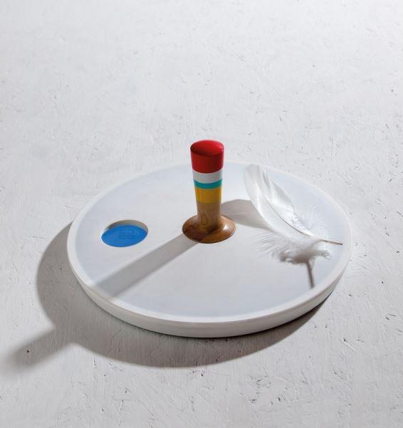 Waga łazienkowa Spinny_top, Pufa Design