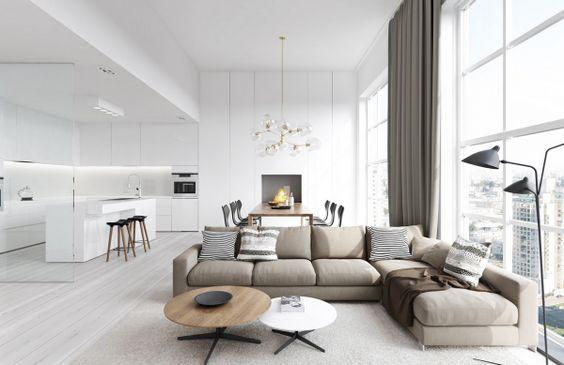 Przykład aranżacji stolika kawowego, Fot.DesignMag .fr