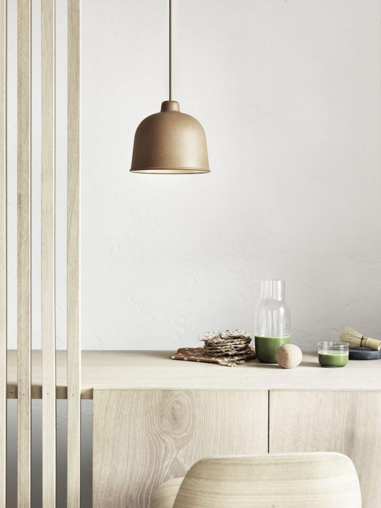 Lampa Grain, Muuto, Pufa Design