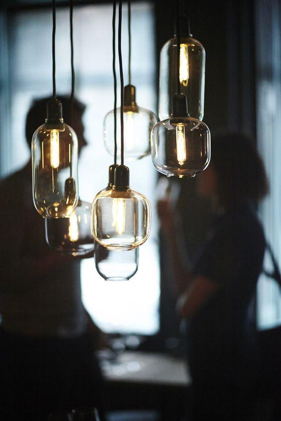 Seria lamp AMP z marmurem, Normann Copenhagen, Pufa Design