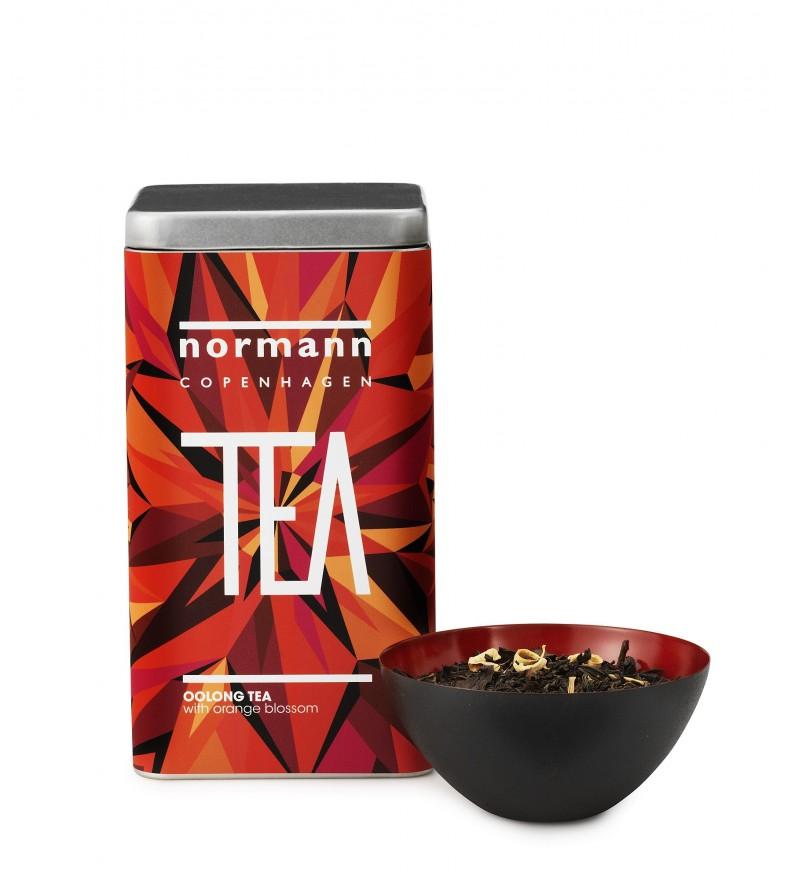 Herbata Oolong z kwiatami pomarańczy Normann Coepnhagen, Pufa Design