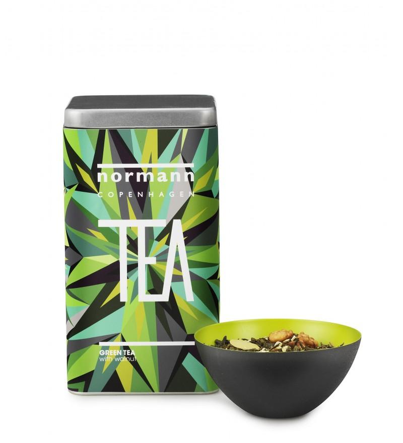 Herbata zielona z orzechami włoskimi Normann Coepnhagen, do kupienia w Pufa Design