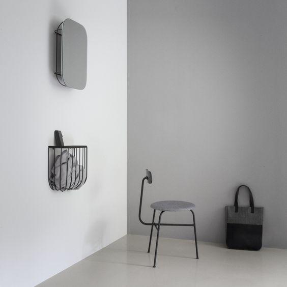 Kolekcja Cage w aranżacji, Pufa Design