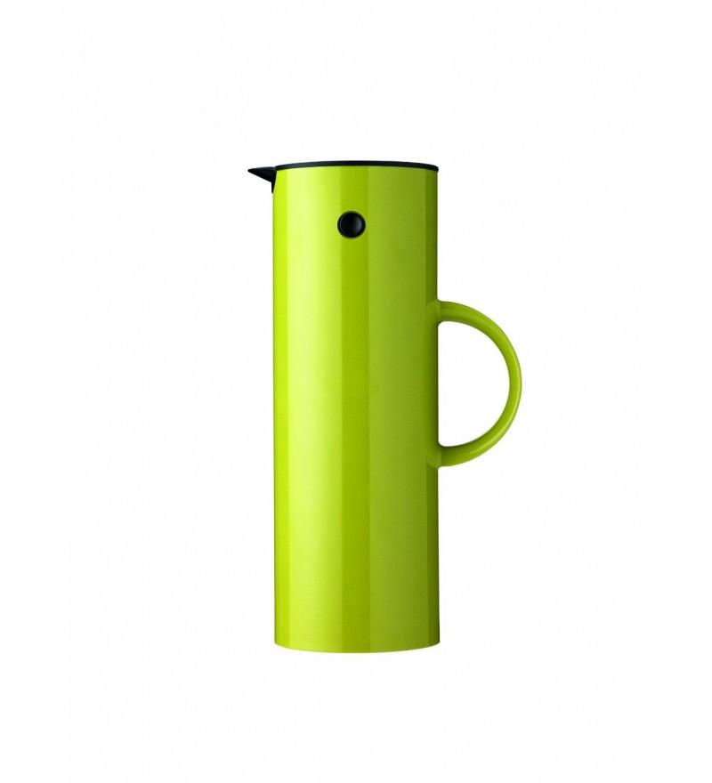 Termos i dzbanek w jednym w kolorze limonkowym EM77 o pojemności 1 l, Stelton, do kupienia w Pufa Design