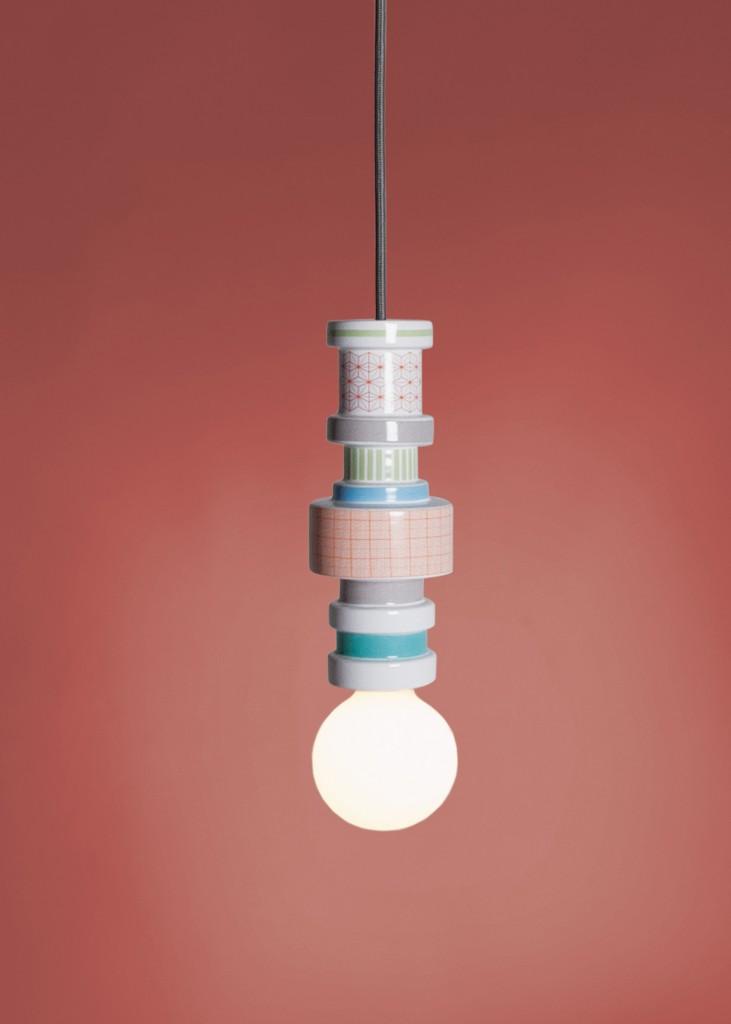 Lampa wisząca Moresque Seletti - Turn Collection, Pufa Design