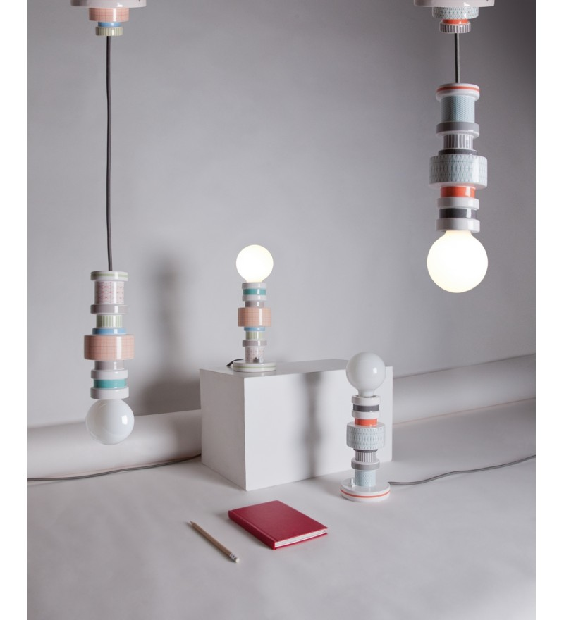 Lampa wisząca Moresque Seletti - Turn Collection, Pufa Design