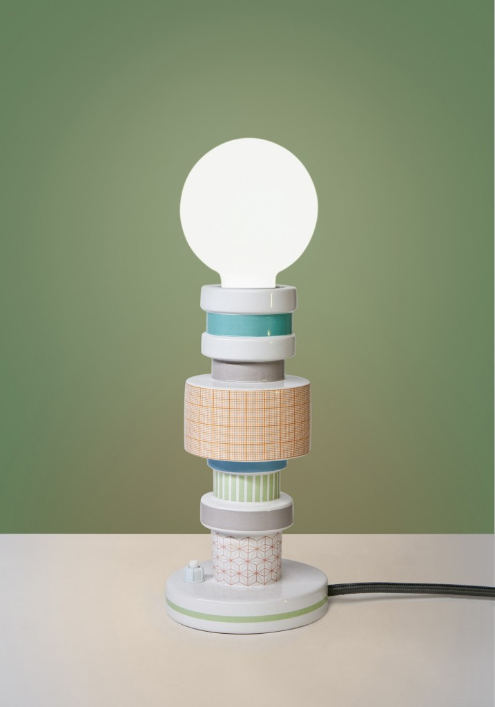 Lampa stołowa Moresque Seletti - Turn Collection, Pufa Design