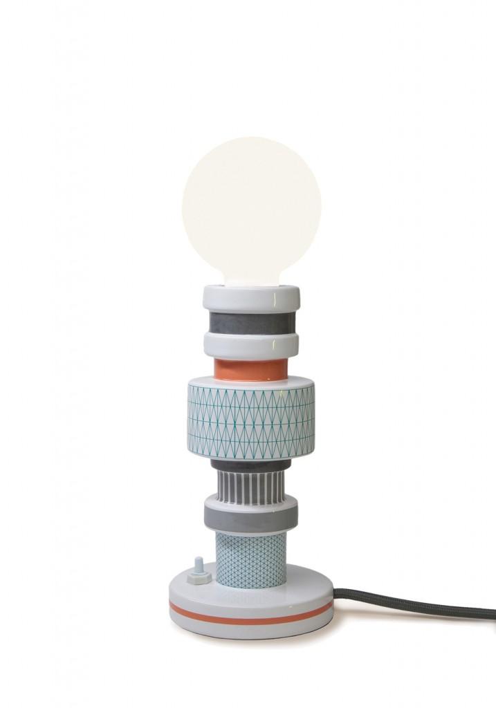 Lampa stołowa Moresque Seletti - Turn Collection, Pufa Design