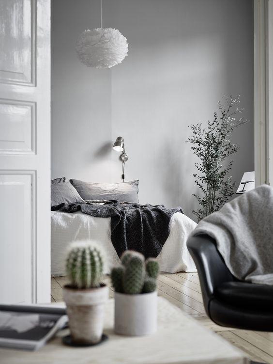 Mniejszy EOS w skandynawskiej sypialni, fot. Coco Lapine Design