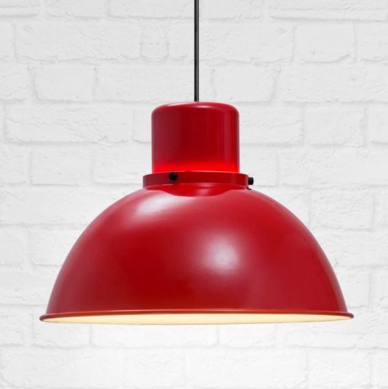 Lampy Reflex Maxi w kolorze czerwonym,TAR Design, Pufa Design