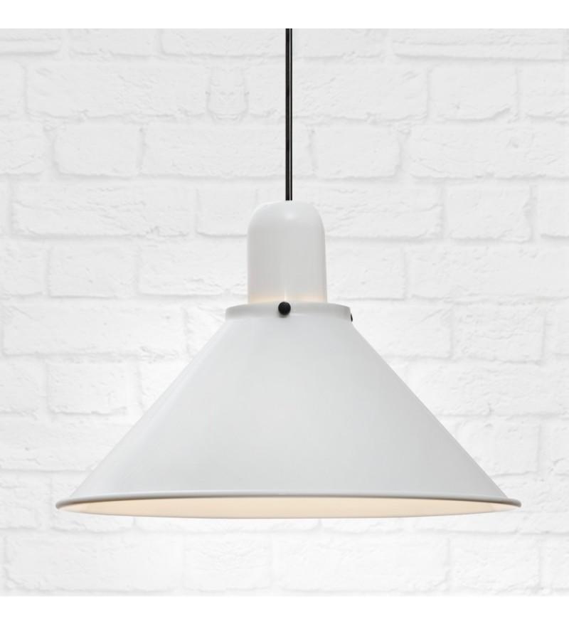Lampy Reflex Stożek w bieli,TAR Design, Pufa Design