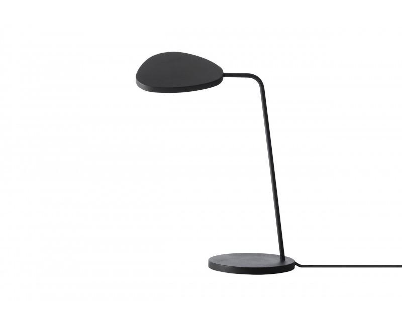Lampa biurkowa Leaf Lamp Muuto - 4 kolory (czarny, biały, szary, zielony), Pufa Design