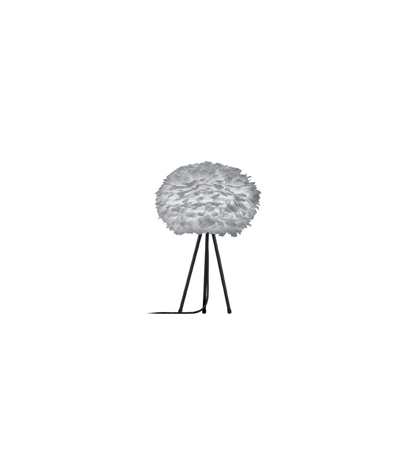Lampa z piór Eos Light Grey Vita Copenhagen – jasnoszara, Pufa Design