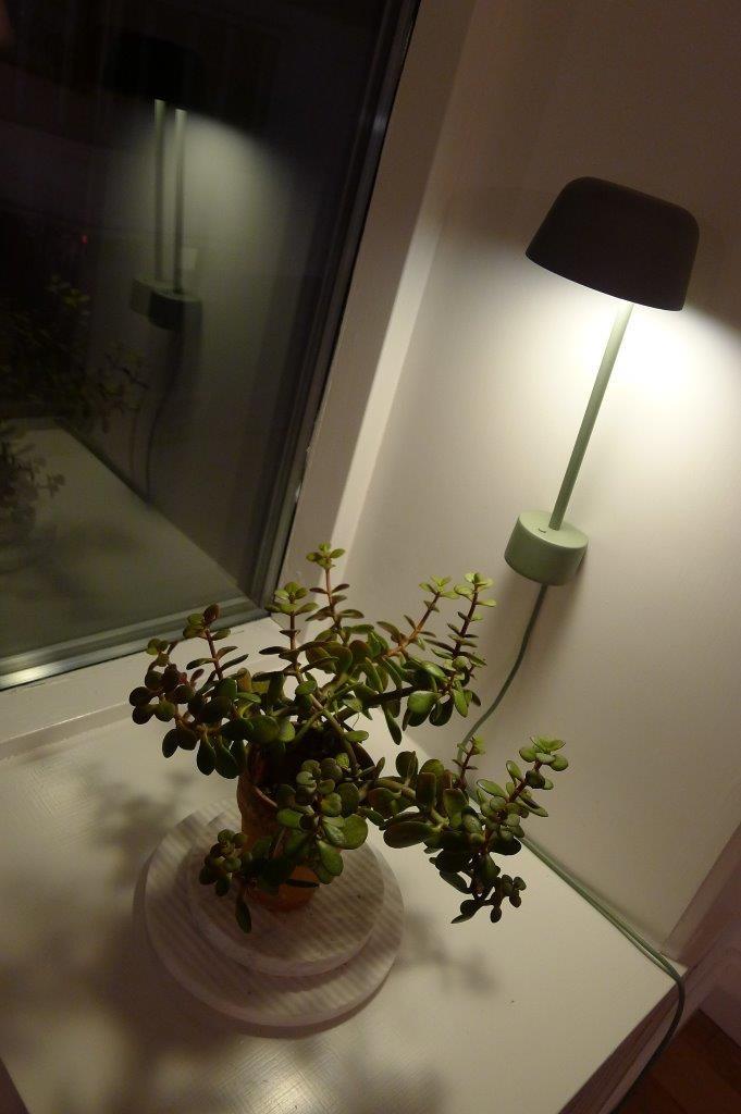 Kinkiet Lean w zielonej aranżacji, fot. Pufa Design