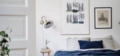 Inspiracja pokazująca oświetlenie nocne w formie kinkietu, fot. Gravity Home