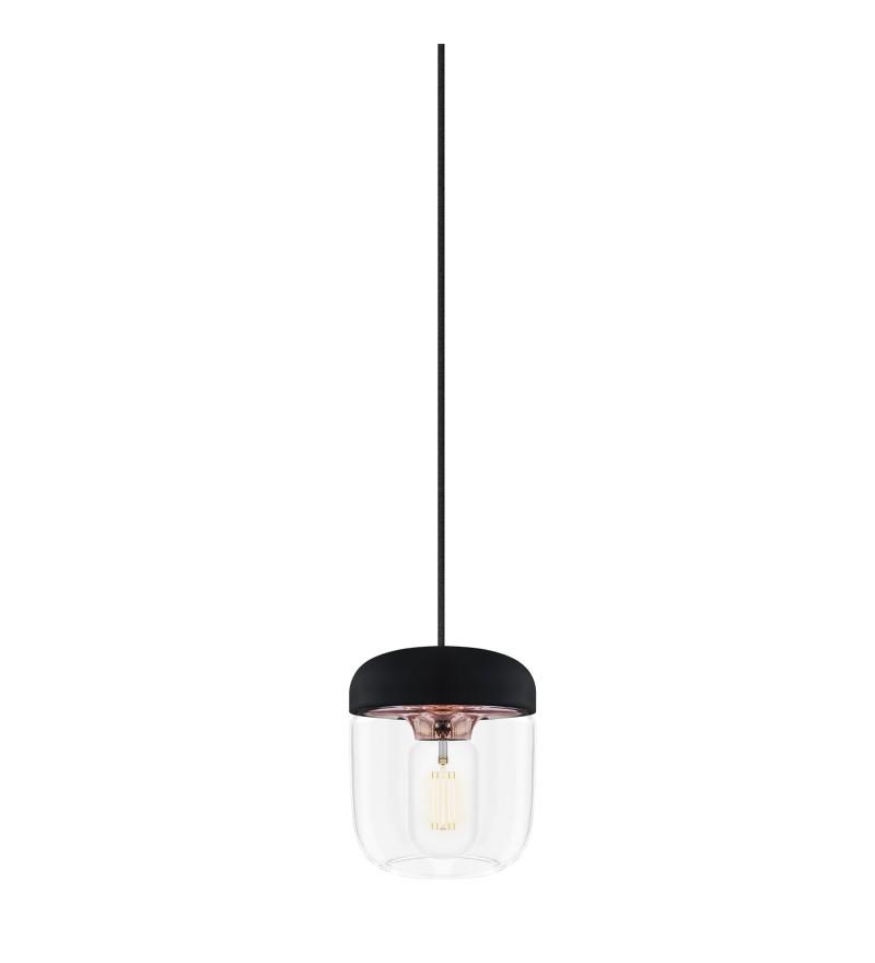 Lampa wisząca Acorn z silikonu i szkła, VITA Copenhagen, Pufa Design