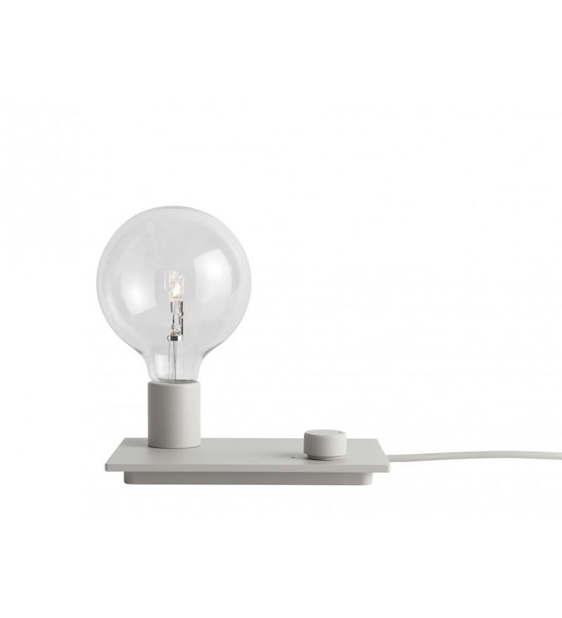 Lampka Control wyposażona jest w ściemniacz, Muuto, Pufa Design