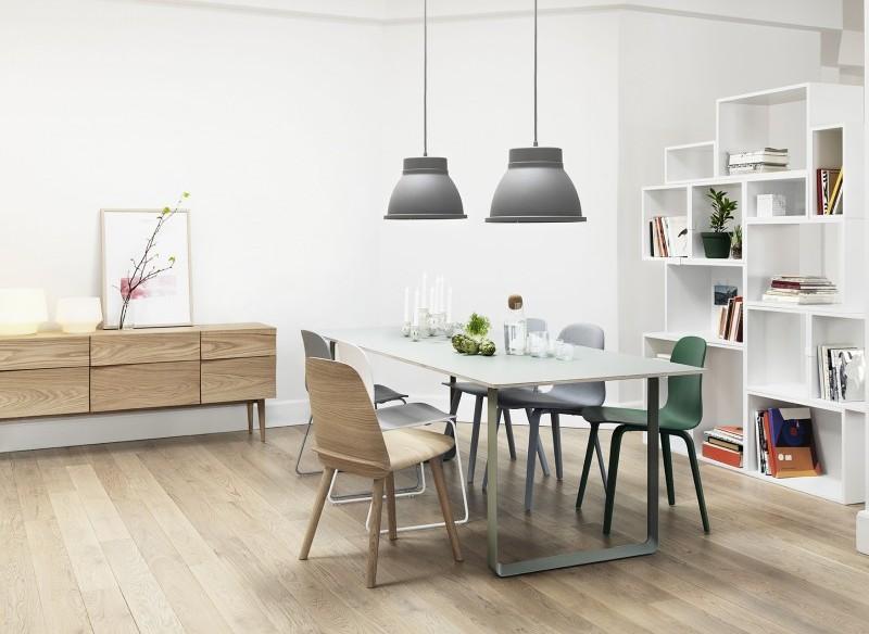 Lampa wisząca Studio Muuto w aranżacji, Pufa Design