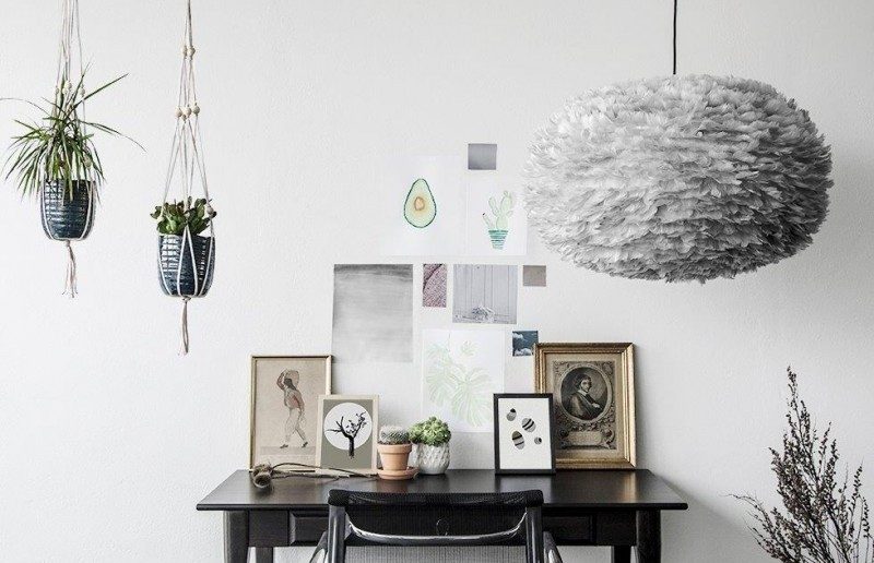 Skandynawska lampa Eos Light Grey, Vita Copenhagen, Pufa Design