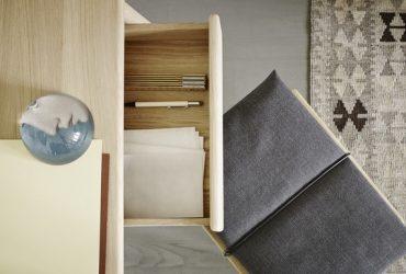 Piękno detali, stołek Georg Skagerak, Pufa Design