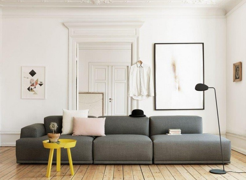 Sofa modułowa Connect, Muuto, Pufa Design