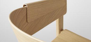 Wygodne podłokietniki Cover Chair, Muuto, Pufa Design