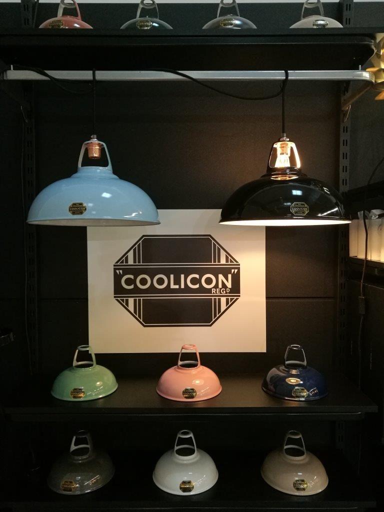 Premiera nowej marki Coolicon, industrialne oświetlenie wprost z Londynu, Pufa Design