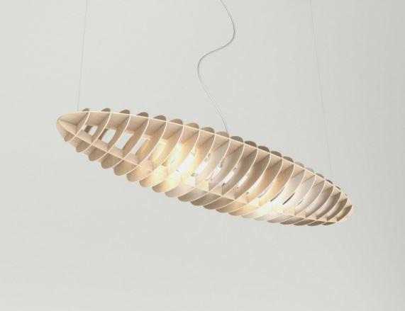 Szybujący ptak, magiczna lampa Elipsa, TAR Design, Pufa Design