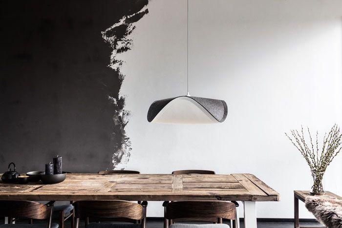 Do salonu, biura, przestrzeni handlowej, lampa Sine zachwyca harmonijnym kształtem, Vita Copenhagen, Pufa Design
