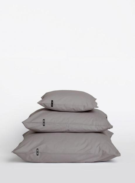 Dwie solidne poszewki na poduszki wykonane z bawełny wyprodukowane w Polsce, do wyboru trzy rozmiary poduszki, Hop Design, Pufa Design