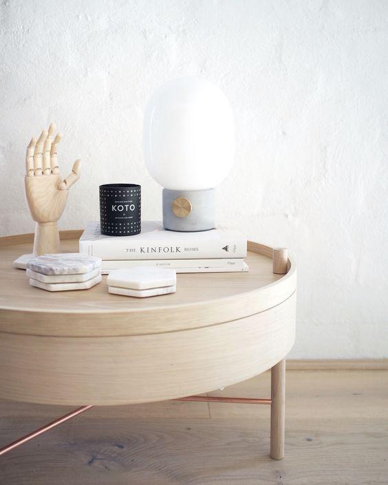 Inspiracja z lampą JWDA, Menu, fot.arrivalhall