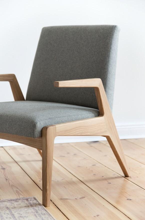 Aż trudno uwierzyć, że ten piękny projekt krzesła z 1967 roku nigdy nie wszedł do masowej produkcji, Pufa Design