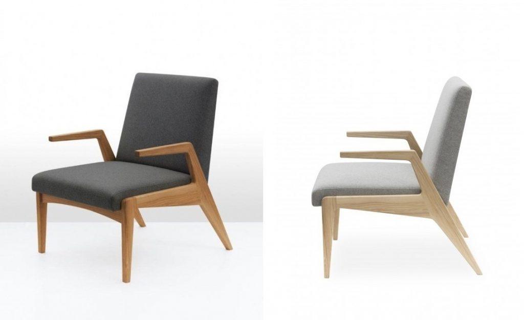 Fotel dostępny jest w bogatej kolorystyce tkanin obiciowych poliestrowych i wełnianych, PufaDesign