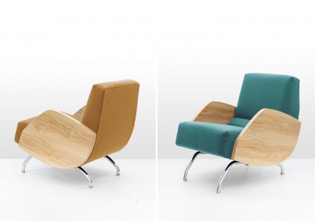 Mimo upływu niemal 60-ciu lat, model zachwyca nowoczesnymi liniami i jakością wykonania, Pufa Design