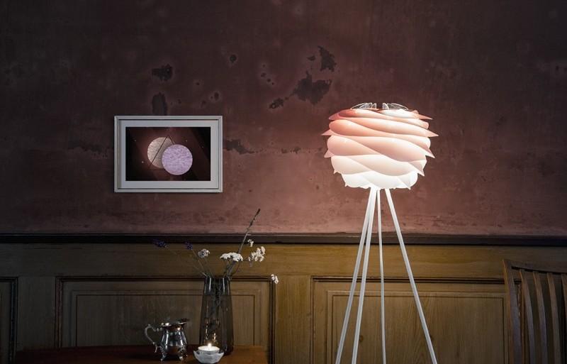 Lampa Carmina mini Gradient Baby Rose, Vita Copenhagen, Pufa Design