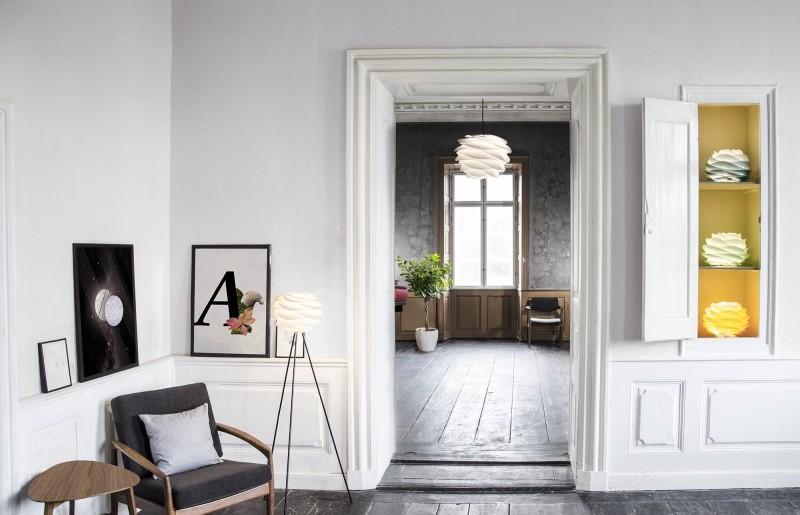 Lampa Carmina mni Gradient w 6 odcieniach ombre do wyboru. Vita Copenhagen, Pufa Design