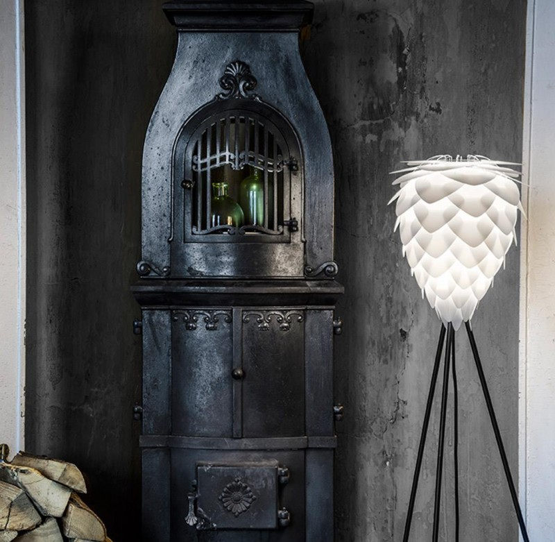 Lampa Conia white, Vita Copenhagen, Pufa Design